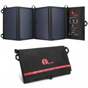 1byone_24w_foldable_solar_charger